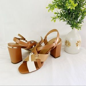 Tommy Hilfiger Women's Strappy Heeled Sandals 6M